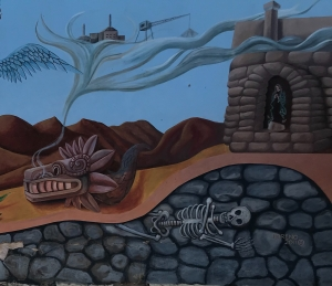 mural, Tucson, barrio viejo